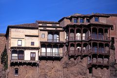 Casas Colgadas, Cuenca, Spain. Royalty Free Stock Images