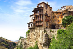 Casas colgadas. Cuenca, Spain Royalty Free Stock Photos