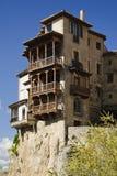 Casas colgadas de Cuenca, España Imagen de archivo