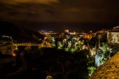 Casas colgantes de Cuenca españa Foto de archivo