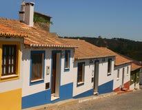 Casas coloreadas imagen de archivo