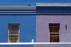 Casas coloreadas Fotos de archivo libres de regalías
