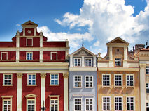 Casas coloridas foto de archivo