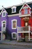 Casas coloridas foto de stock royalty free