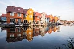 Casas coloridas Imagen de archivo