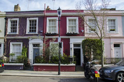 Casas de Notting Hill Fotos de Stock