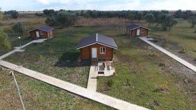 Casas com base em casas de resto para turistas e caçadores filme