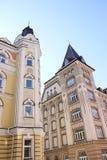 Casas com torres Fotos de Stock