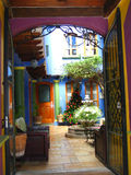 casas cristobal de las san Arkivbild