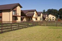 Casas da área residencial Fotografia de Stock