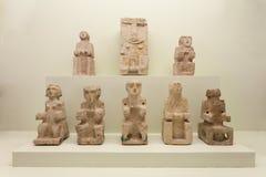Casas da arqueologia Museum Imagens de Stock