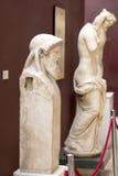 Casas da arqueologia Museum Imagem de Stock