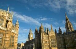 Casas da arquitectura da cidade do parlamento Fotos de Stock