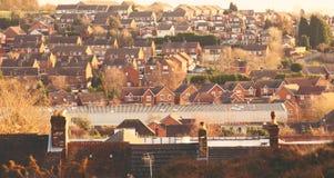 Casas da arquitetura Imagem de Stock Royalty Free