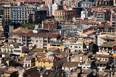 Casas da cidade de Girona, Espanha Imagens de Stock Royalty Free