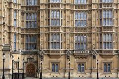 Casas da fachada do parlamento Imagens de Stock Royalty Free
