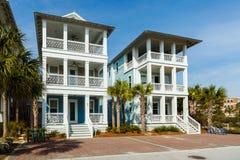 Casas da língua de terra de Florida imagem de stock royalty free