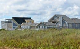 Casas da praia de Florida Foto de Stock Royalty Free