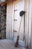 Casas da vila do fragmento Fotos de Stock Royalty Free