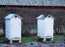 Casas de abeja Fotografía de archivo libre de regalías