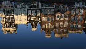 Casas de Amsterdam Fotografía de archivo libre de regalías