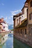 Casas de Annecy Imagen de archivo