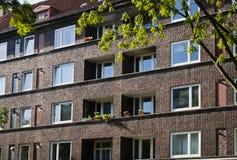 Casas de apartamento Foto de archivo