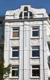 Casas de apartamento viejas Imagenes de archivo