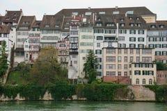 Casas de Basilea imágenes de archivo libres de regalías