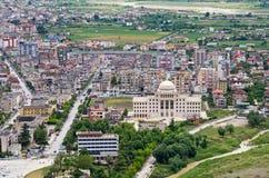 Casas de Berat, Albânia imagem de stock royalty free