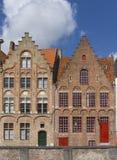Casas de Bruges Imagens de Stock Royalty Free