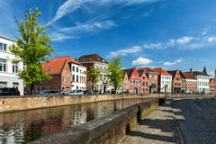 Casas de Bruges Bruges, Bélgica fotos de stock