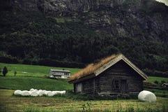 Casas de campo Imagenes de archivo
