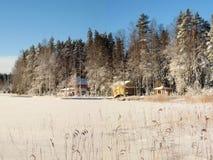 Casas de campo Foto de Stock Royalty Free