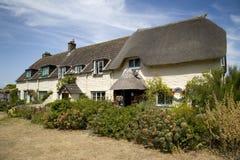 Casas de campo consideravelmente inglesas Fotografia de Stock Royalty Free