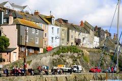 Casas de campo Cornish Fotos de Stock