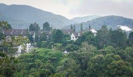 Casas de campo da montanha em Cameron Highlands foto de stock royalty free