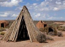 Casas de campo del sudor Imagen de archivo