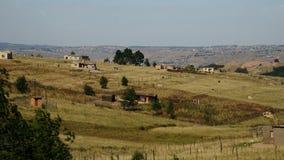 Casas de campo do Swazi imagens de stock royalty free