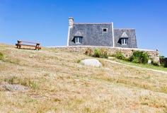 Casas de campo em Brittany Fotos de Stock