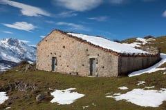 Casas de campo en Picos de Europa Fotos de archivo