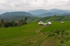 Casas de campo entre a natureza bonita imagem de stock royalty free