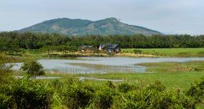 Casas de campo maravilhosas de Dalat perto da natureza Fotos de Stock