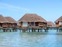 Casas de campo no mar imagem de stock royalty free