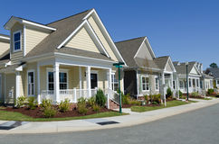 Casas de campo novas para a venda Fotografia de Stock