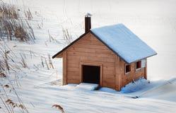 Casas de campo para los pájaros. Imagen de archivo libre de regalías