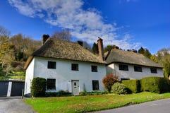 Casas de campo Thatched Imagens de Stock Royalty Free