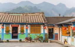 Casas de campo tradicionais do tijolo Imagens de Stock