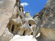Casas de Cappadocia Imagen de archivo libre de regalías