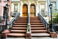Casas de Chelsea NYC imagem de stock royalty free